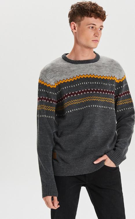 Sweter Cropp z wełny