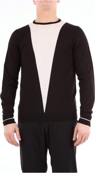 Sweter Daniele Alessandrini z wełny