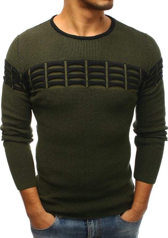 Sweter Dstreet z dzianiny w młodzieżowym stylu