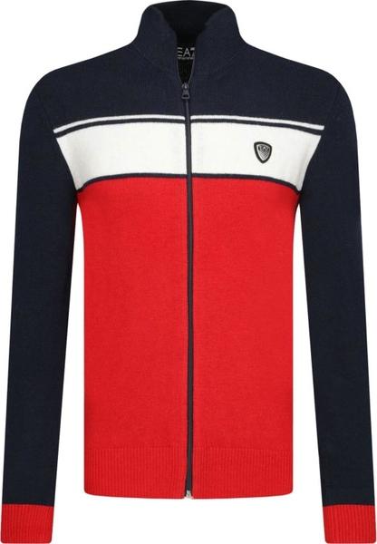 Sweter Emporio Armani w stylu casual z wełny