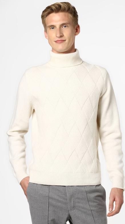 Sweter Finshley & Harding z dzianiny
