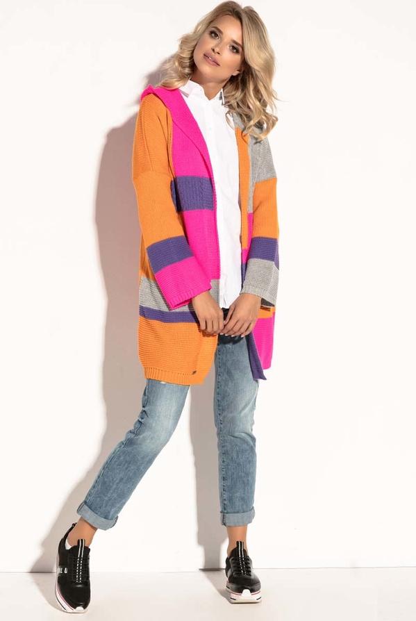 Sweter Fobya z wełny Odzież Damskie Swetry i bluzy damskie TI AKOSTI-6 ekonomiczny