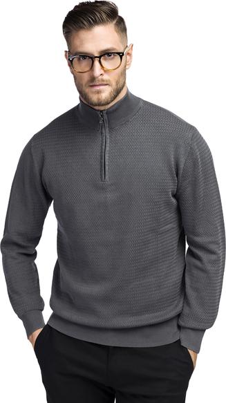 Sweter Giacomo Conti z bawełny w stylu casual