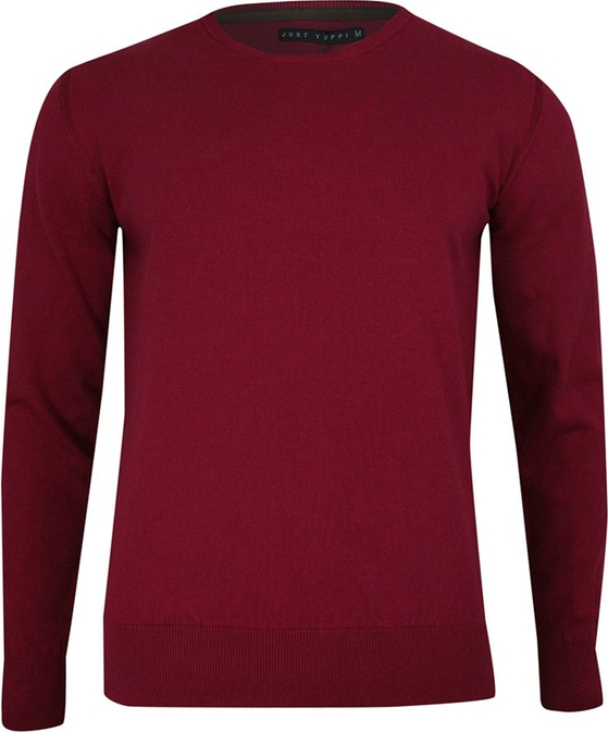 Sweter Just yuppi w stylu casual
