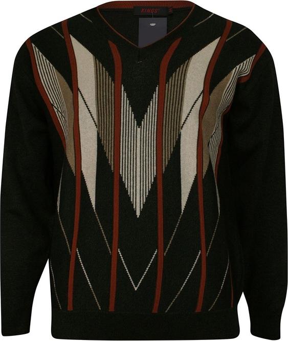 Sweter Kings w stylu casual