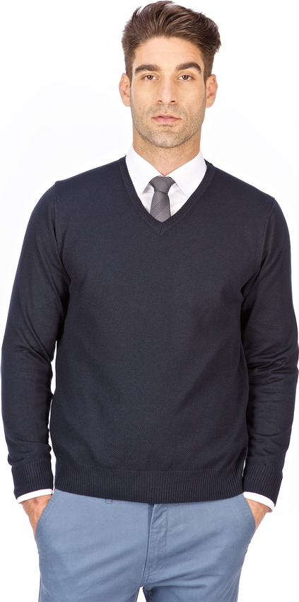 Sweter Lanieri Fashion w stylu casual z bawełny