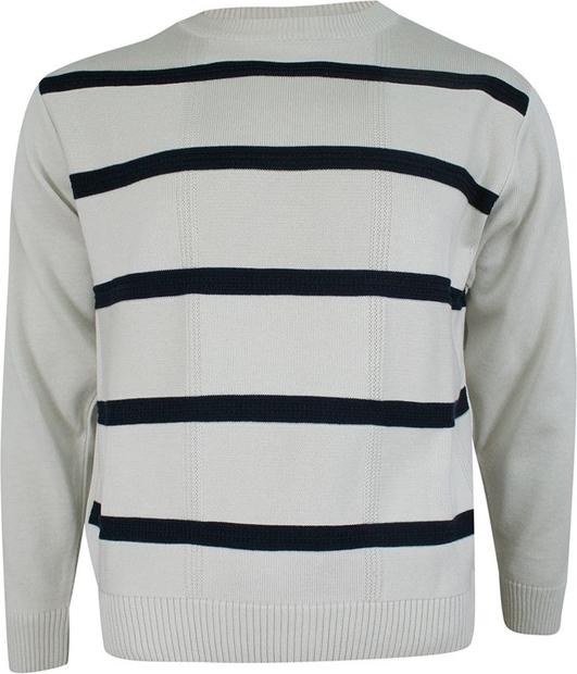 Sweter Max Sheldon w młodzieżowym stylu z okrągłym dekoltem