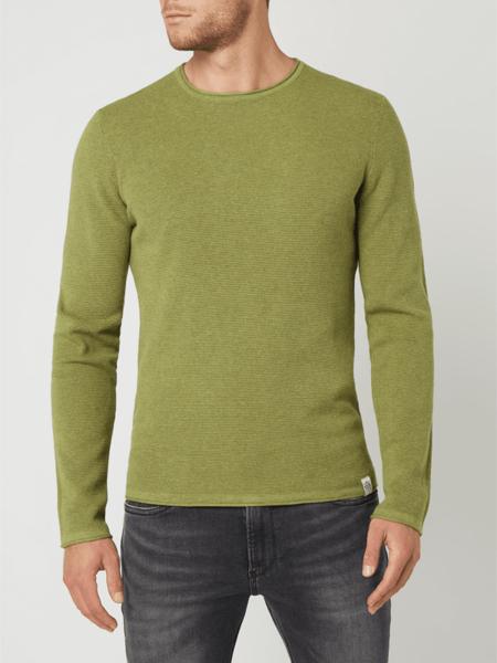 Sweter McNeal z bawełny w stylu casual