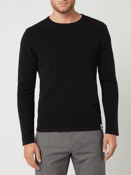 Sweter McNeal z okrągłym dekoltem