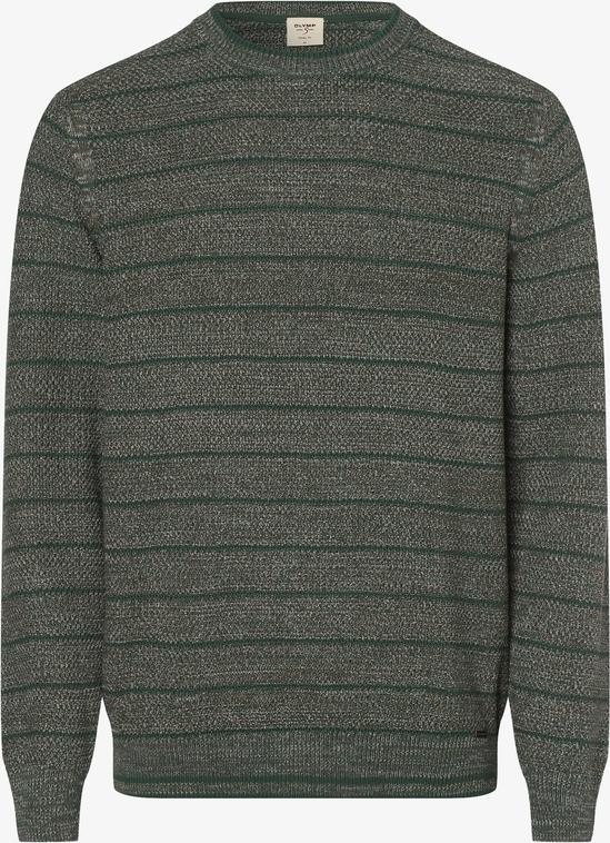 Sweter Olymp Luxor Modern Fit z bawełny