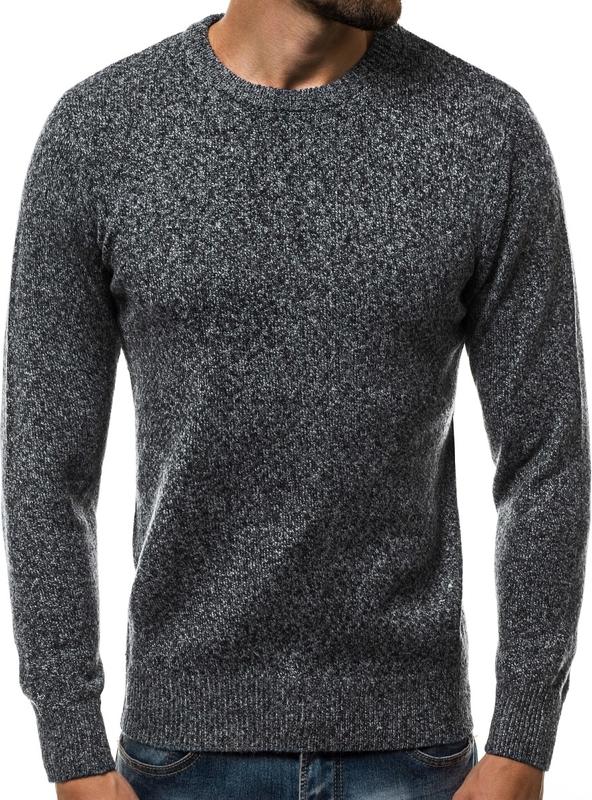 Sweter Ozonee.pl z wełny w stylu casual