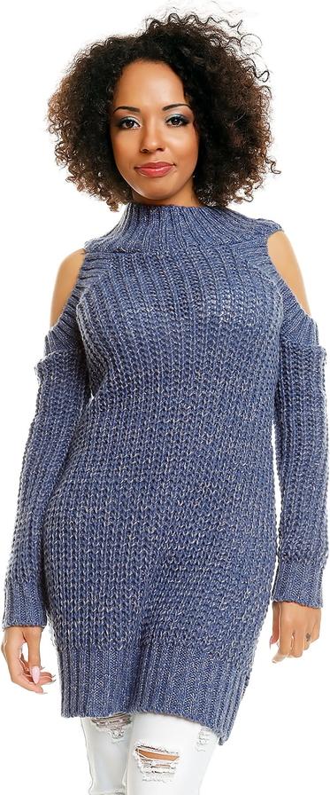 70% ZNIŻKI Sweter Peekaboo z jeansu Odzież Damskie Swetry i bluzy damskie MG LNBSMG-1