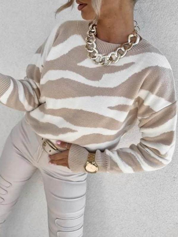 Sweter Perfe.pl z kaszmiru w stylu casual