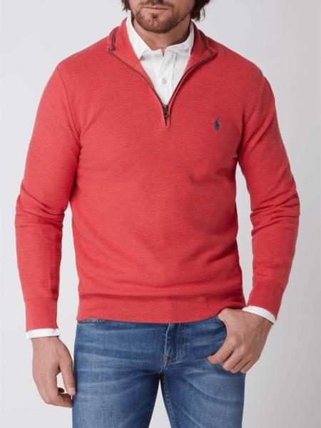 Sweter POLO RALPH LAUREN ze stójką