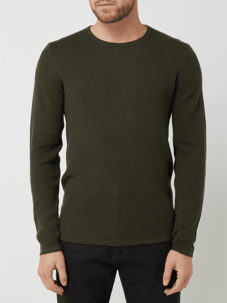 Sweter Tom Tailor Denim z bawełny w stylu casual