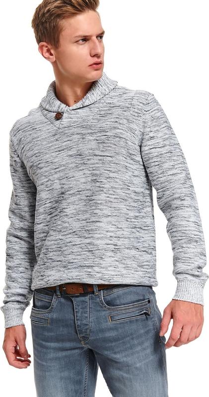 Sweter Top Secret z dżerseju