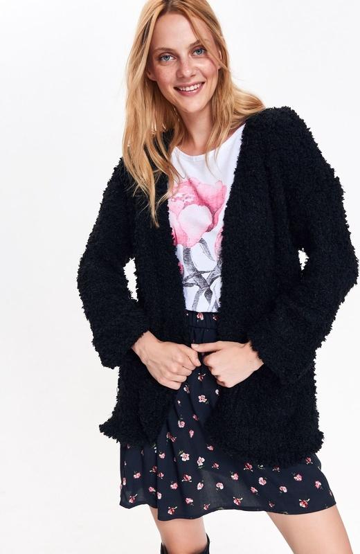 Sweter Top Secret z dzianiny w stylu casual