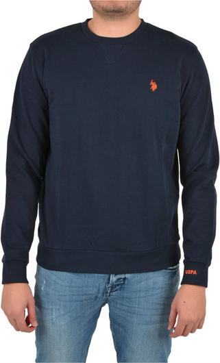 Sweter U.S. Polo z okrągłym dekoltem z wełny