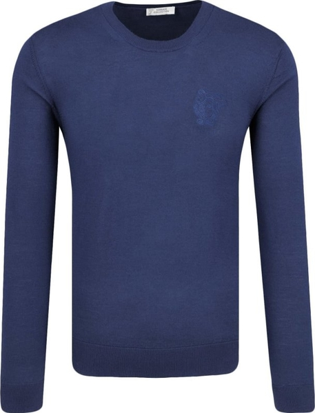Sweter Versace Collection z wełny