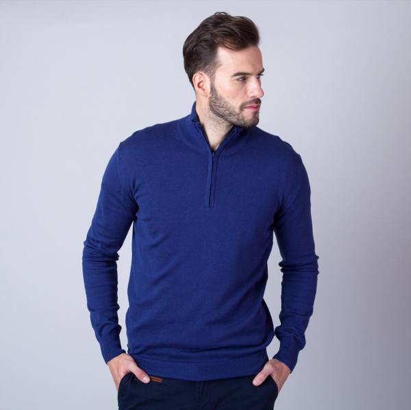 Sweter Willsoor ze stójką w stylu casual