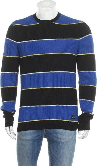 Sweter YOUR TURN w młodzieżowym stylu z okrągłym dekoltem