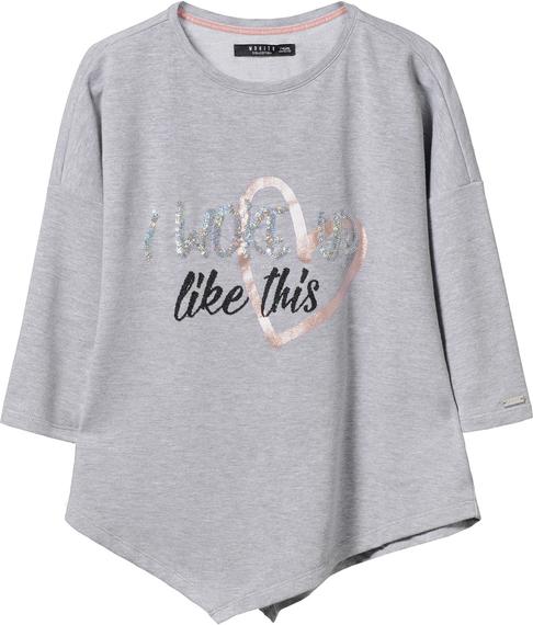 Szara bluza dziecięca mohito dla dziewczynek