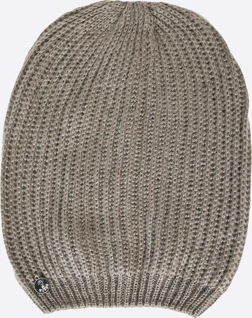 Szara czapka guess jeans