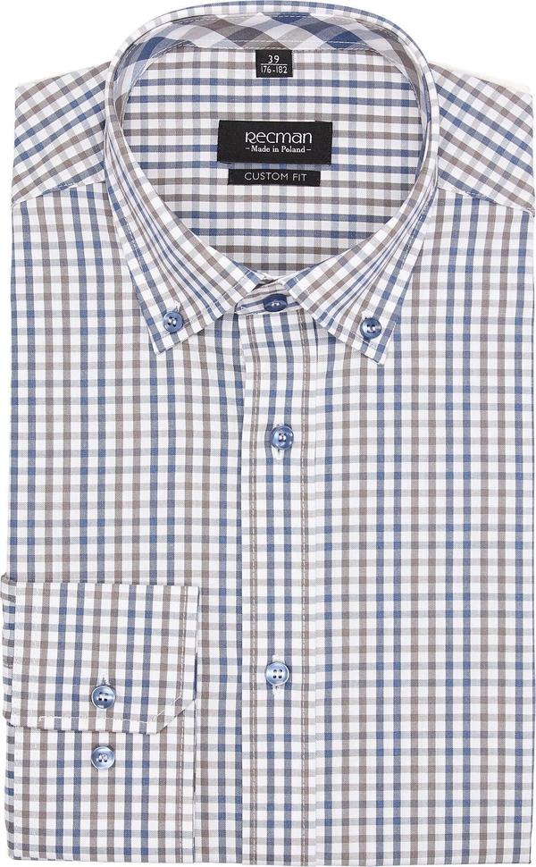 Szara koszula recman