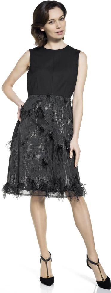 c23d76bbea Sukienka deni cler z aplikacją