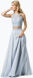 Szara sukienka luxuar fashion