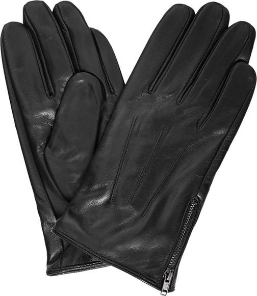 Szare rękawiczki giacomo conti