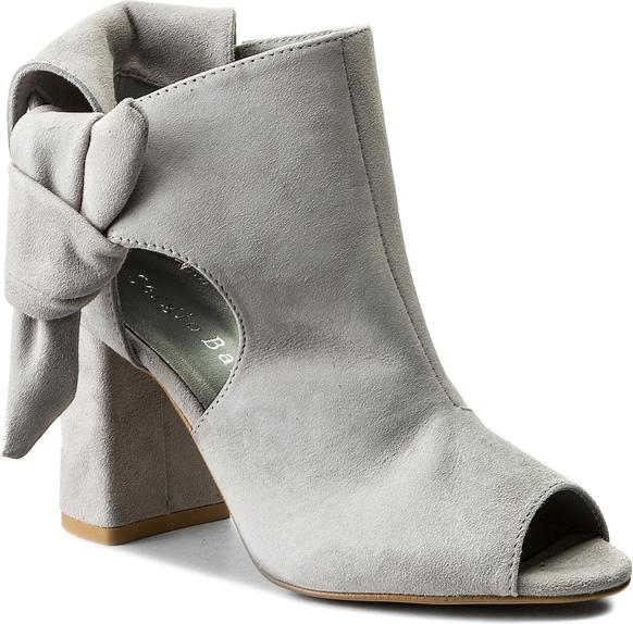 Szare sandały sergio bardi