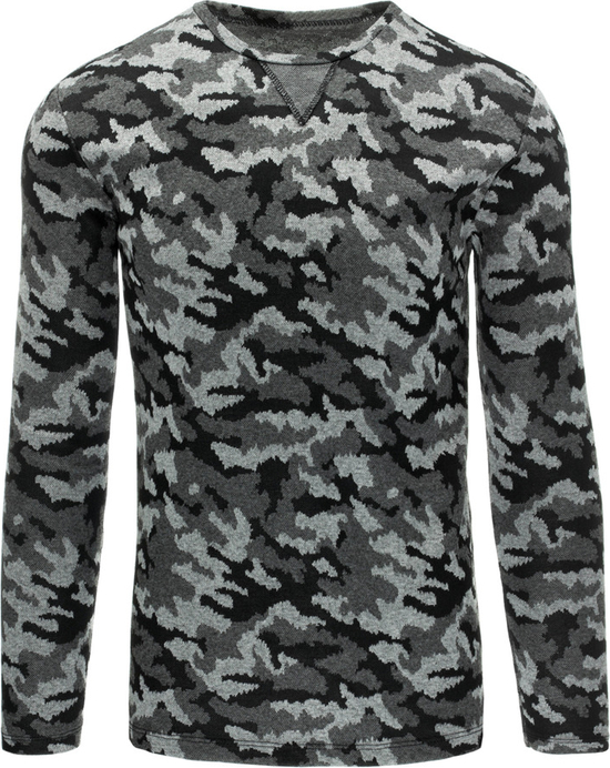 Szary sweter dstreet z poliestru