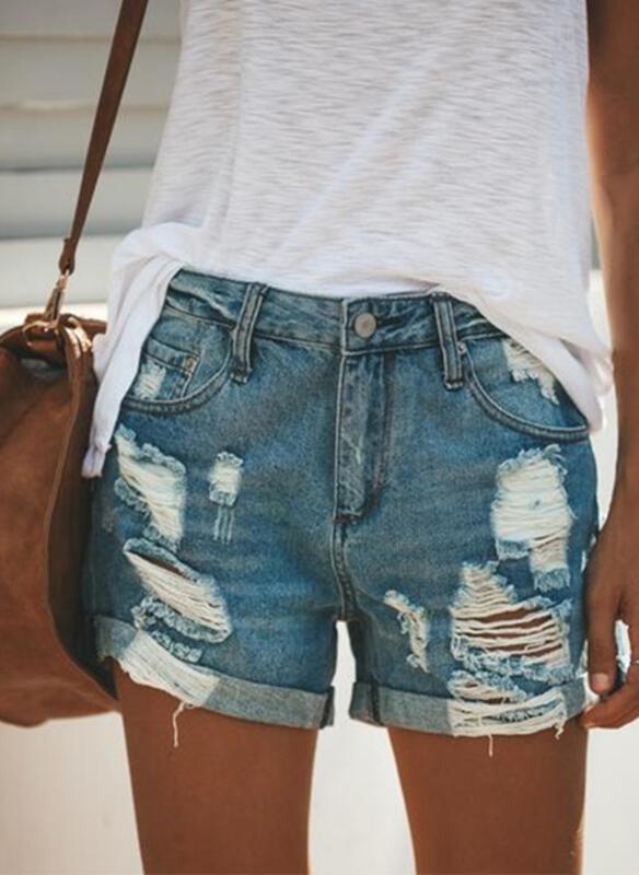 Szorty Sandbella z jeansu