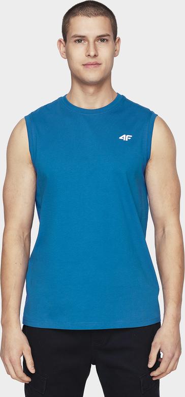 T-shirt 4F bez rękawów z bawełny