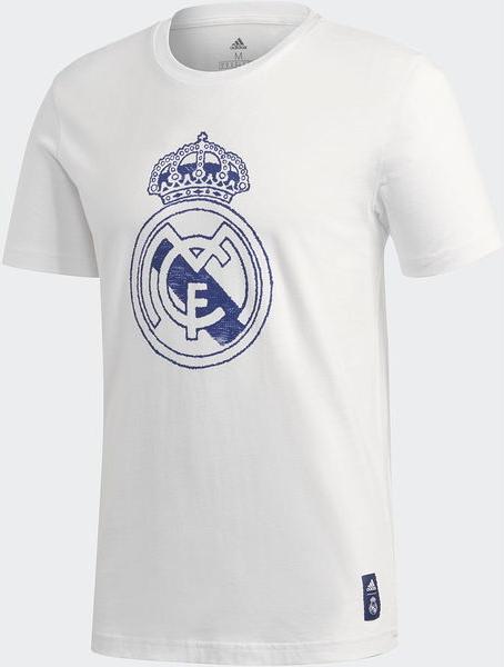 T-shirt Adidas w młodzieżowym stylu z nadrukiem