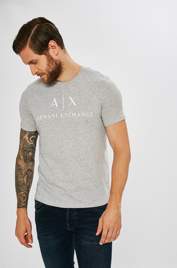 T-shirt Armani Exchange z bawełny