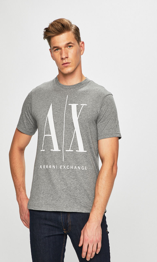 T-shirt Armani Jeans z bawełny