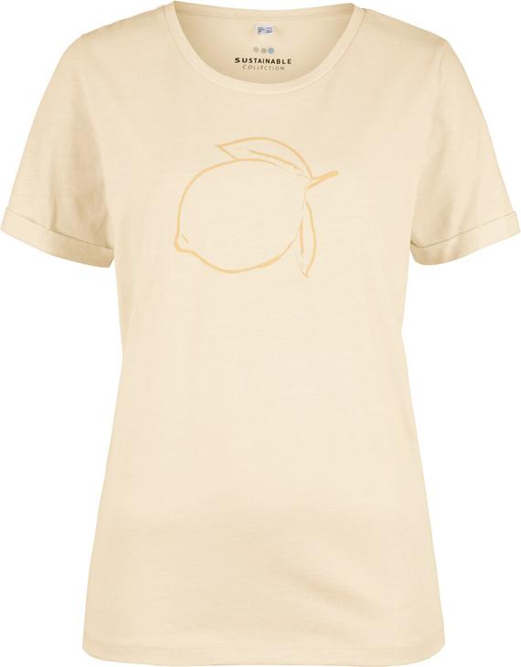 T-shirt bonprix bpc bonprix collection z krótkim rękawem z okrągłym dekoltem w stylu casual