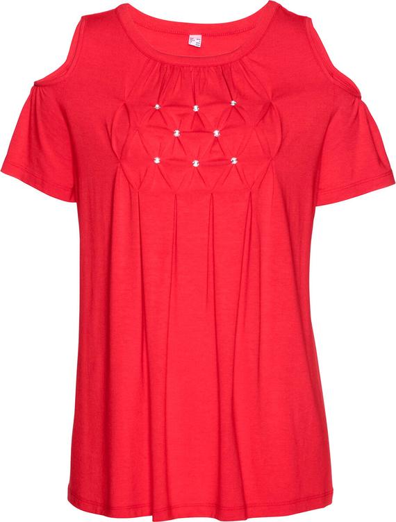 T-shirt bonprix bpc selection z okrągłym dekoltem
