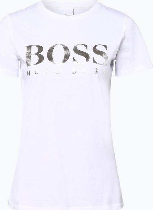 T-shirt BOSS Casual z okrągłym dekoltem