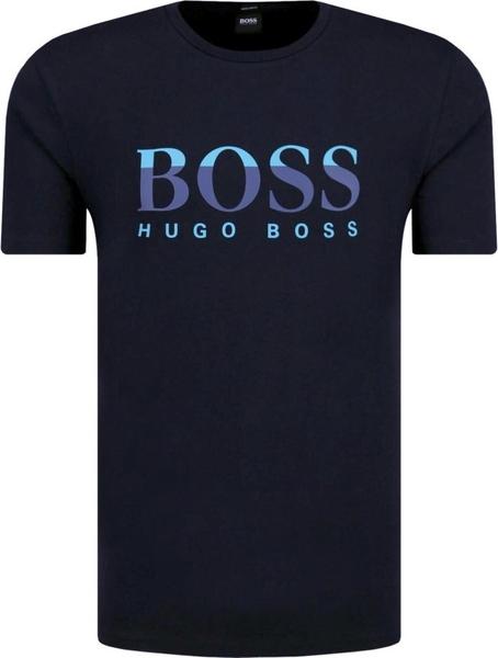 T-shirt Boss z krótkim rękawem w młodzieżowym stylu