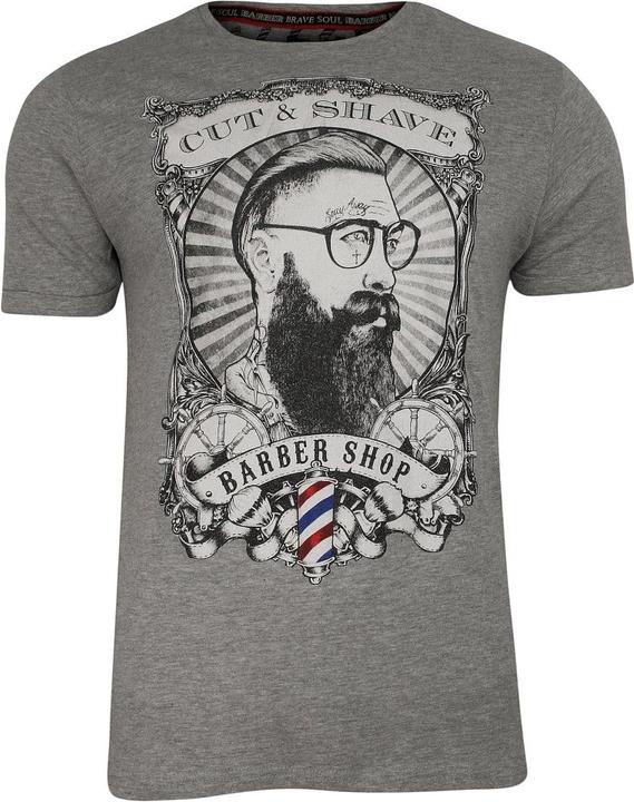 T-shirt Brave Soul z nadrukiem z krótkim rękawem