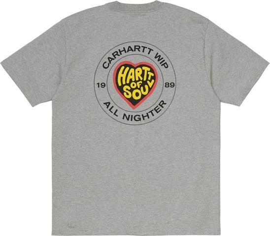 T-shirt Carhartt WIP w młodzieżowym stylu