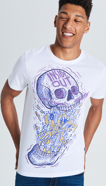 T-shirt Cropp w młodzieżowym stylu