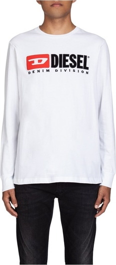 T-shirt Diesel w młodzieżowym stylu