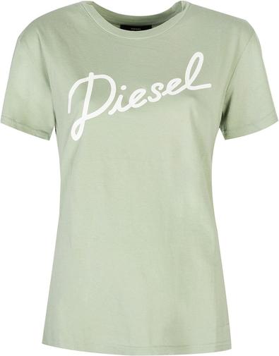 T-shirt Diesel w młodzieżowym stylu z krótkim rękawem