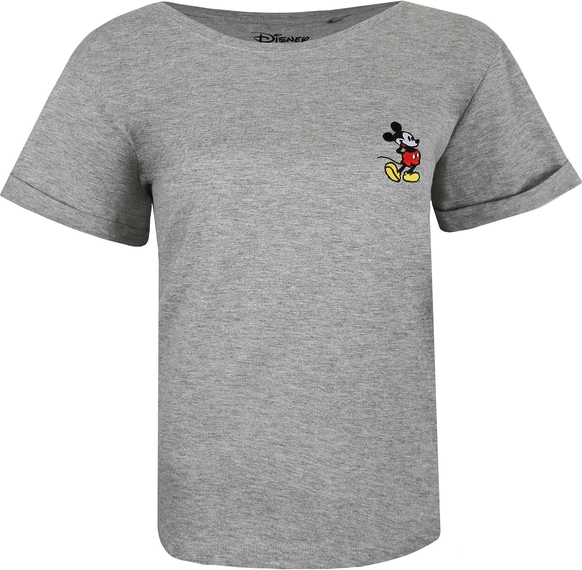 T-shirt Disney z krótkim rękawem z dekoltem w łódkę