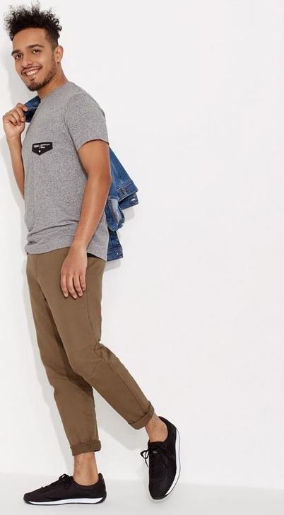 T-shirt Diverse z bawełny z krótkim rękawem