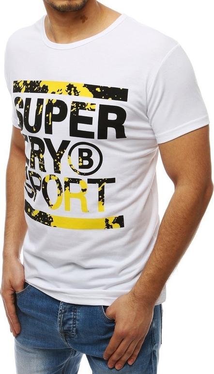 T-shirt Dstreet z krótkim rękawem z bawełny